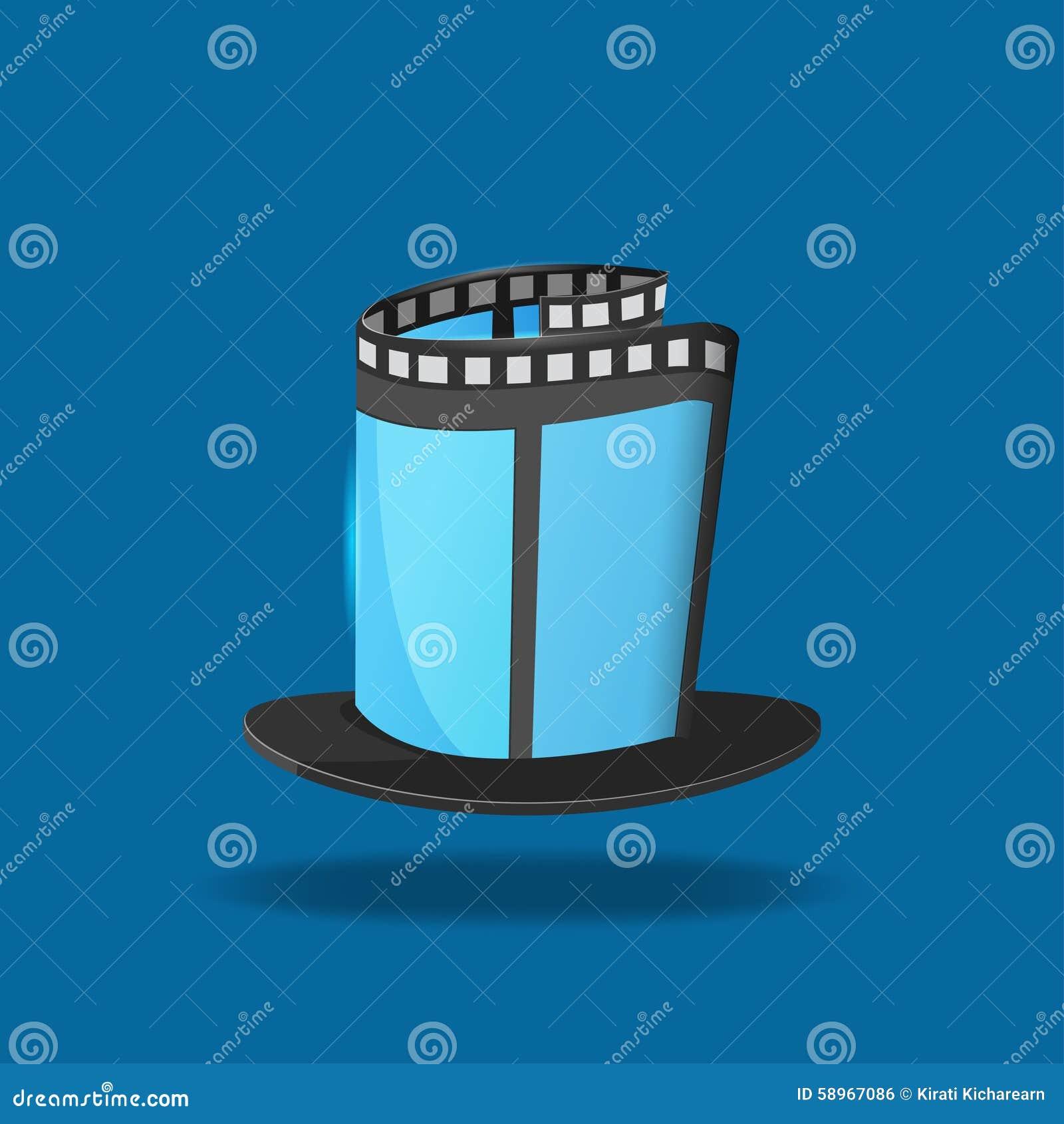 Film-Hut-magische Film-Ikone