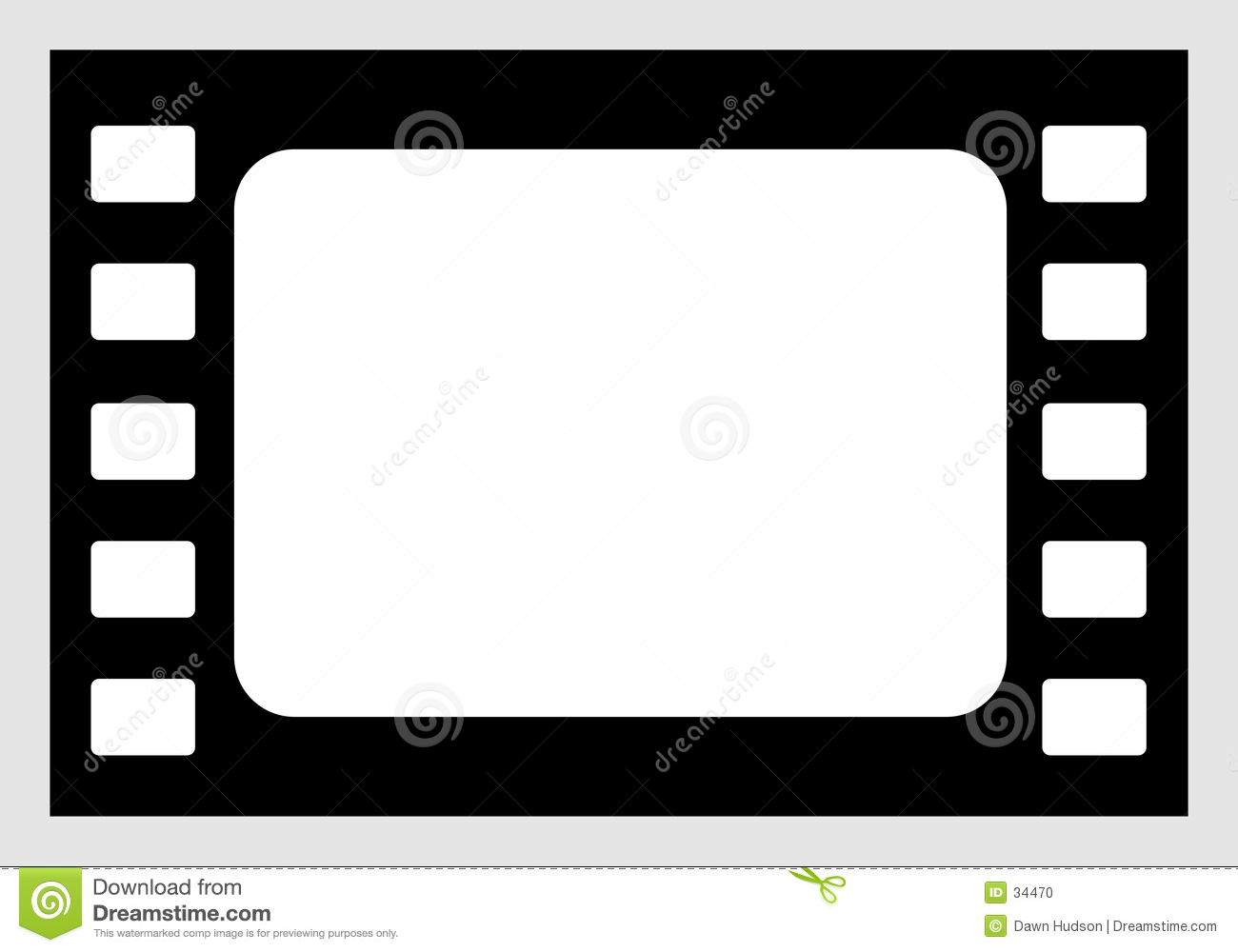 Download Film Icon stock vector. Illustration of border, digital - 34470