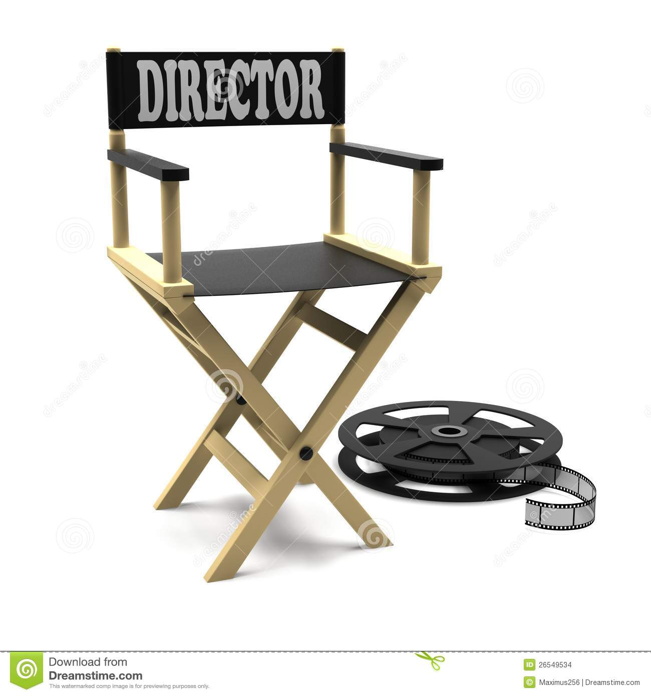 Film Industry: Directors Chair Stock Images - Image: 26549534