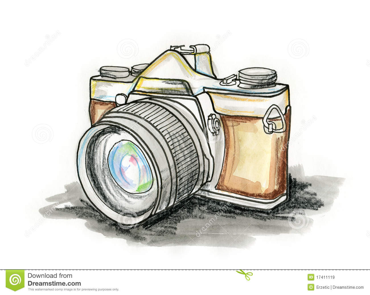 Old Fashioned Camera Photography