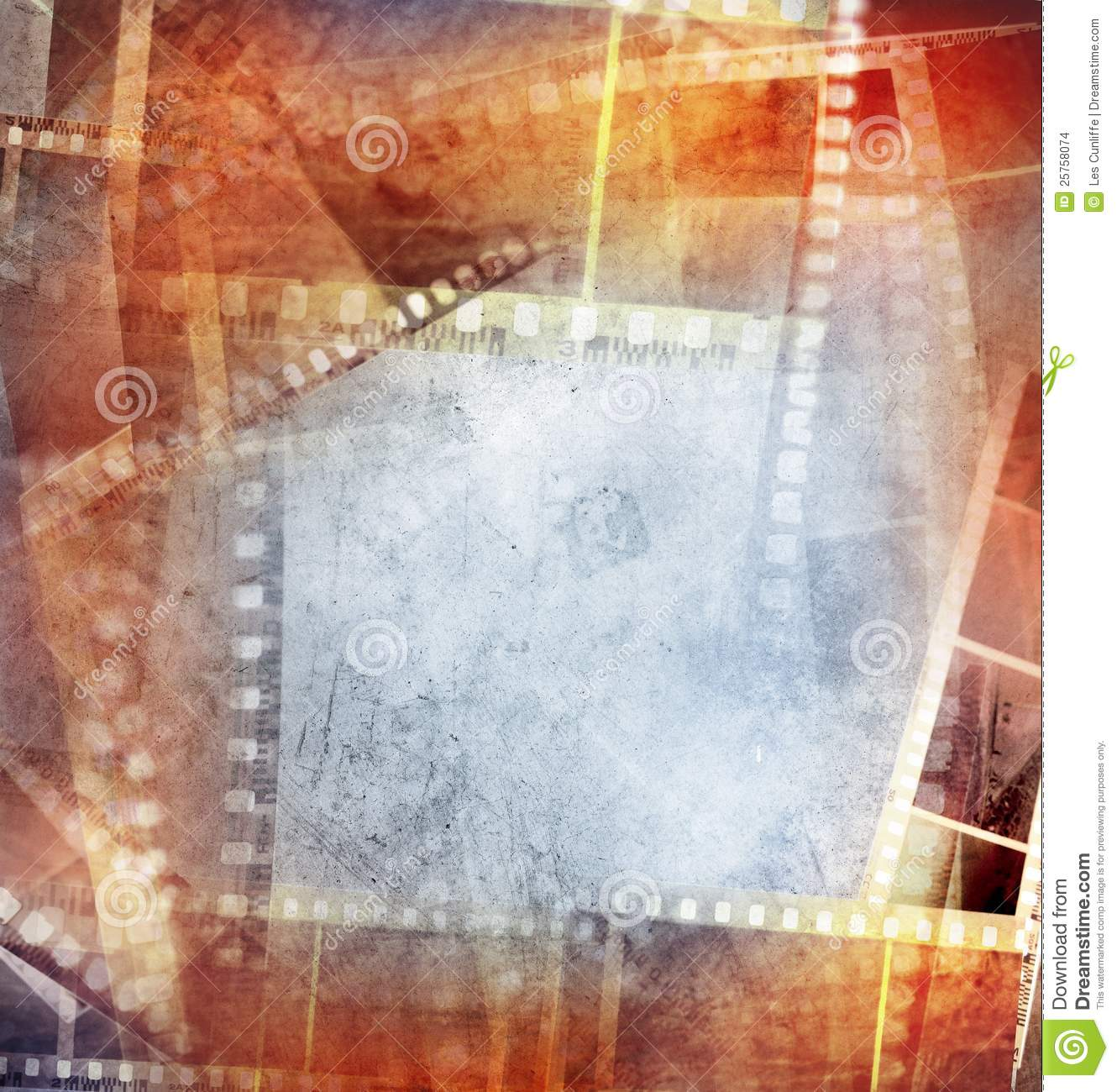 Film negative background