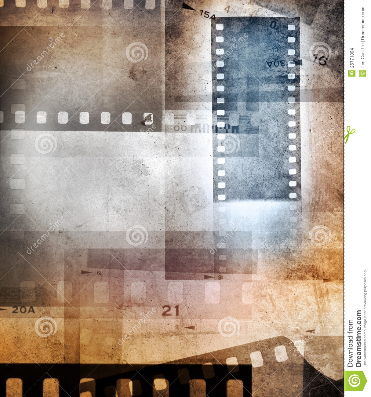 Film Negative Background Stock Images - Image: 25771804