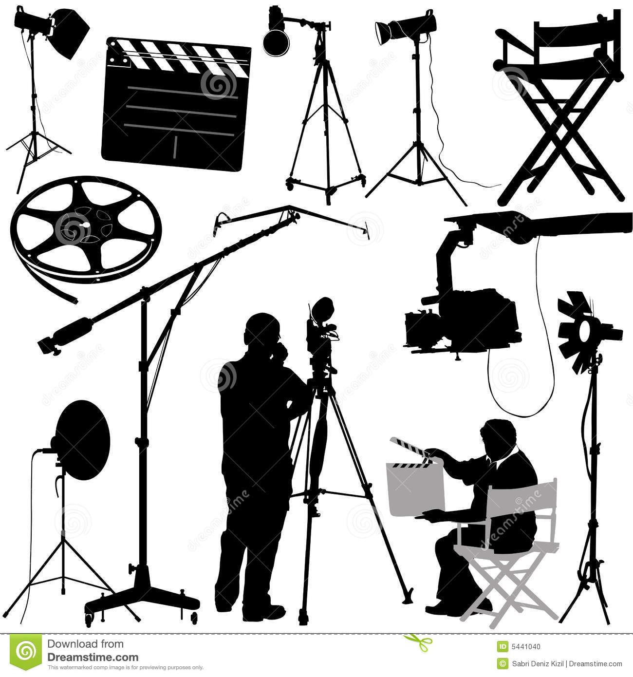 film objects and cameraman stock photo image 5441040 movie camera clip art images movie camera clip art transparent