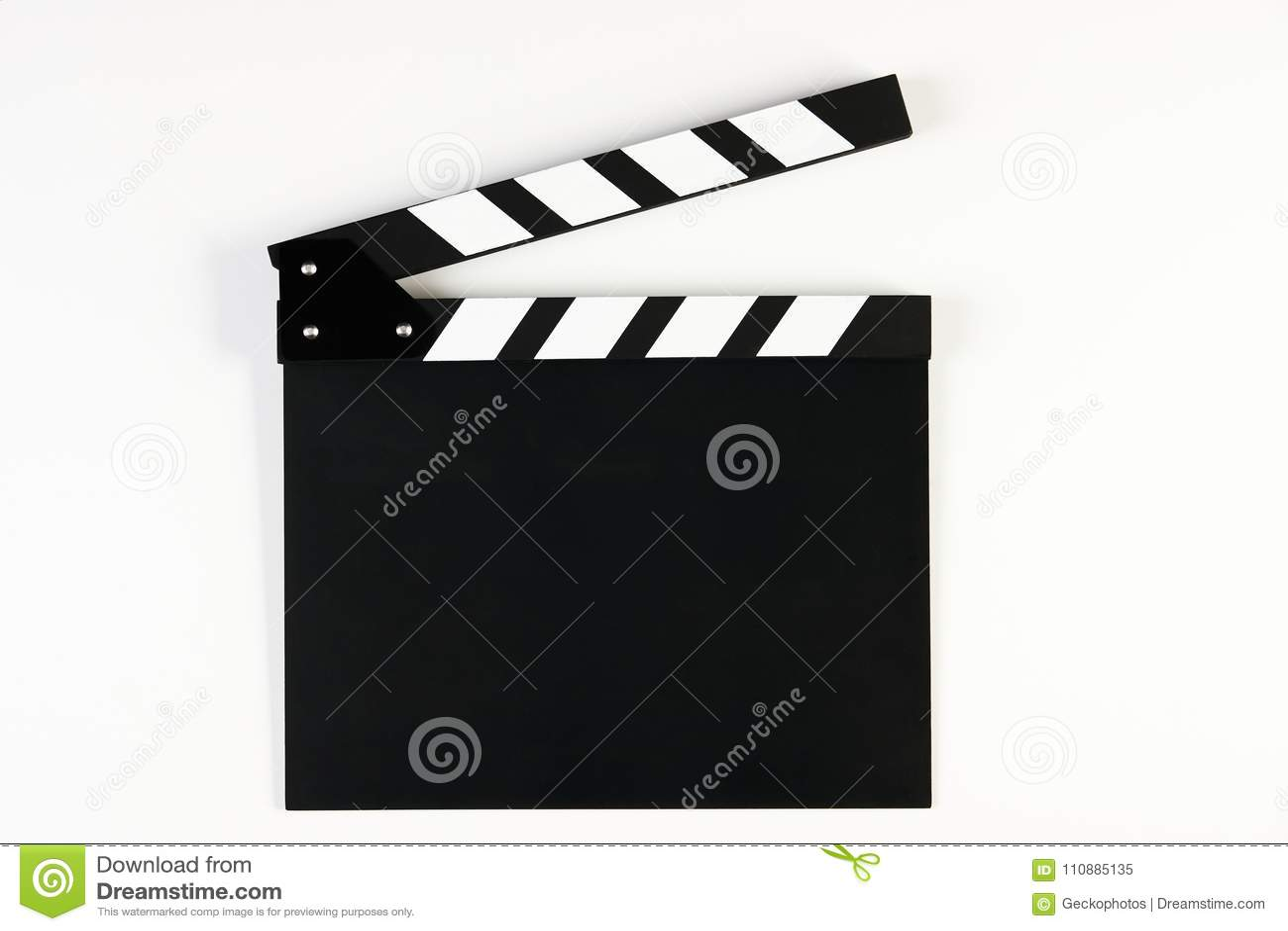 Film produkci clapper deska