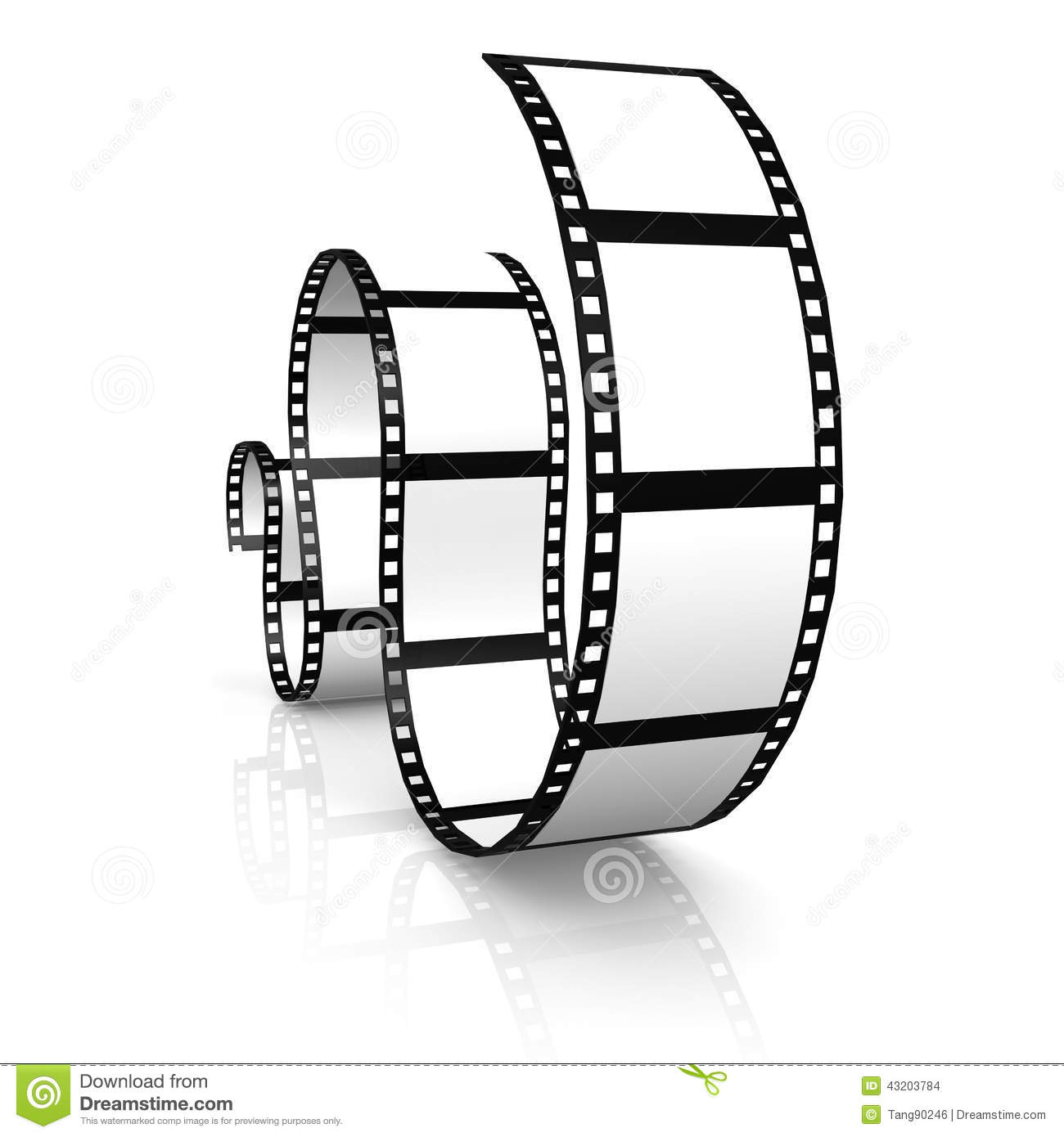 Download Film remsan stock illustrationer. Illustration av negativt - 43203784