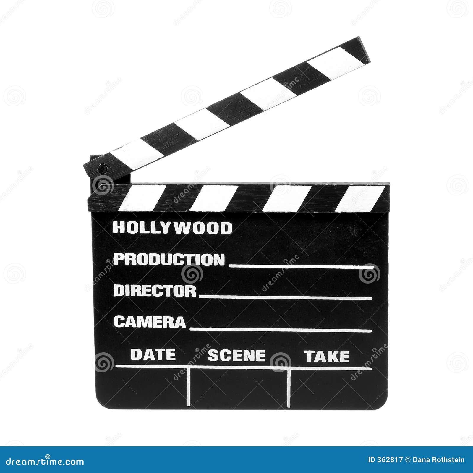 Film-Schiefer - Ausschnitts-Pfad