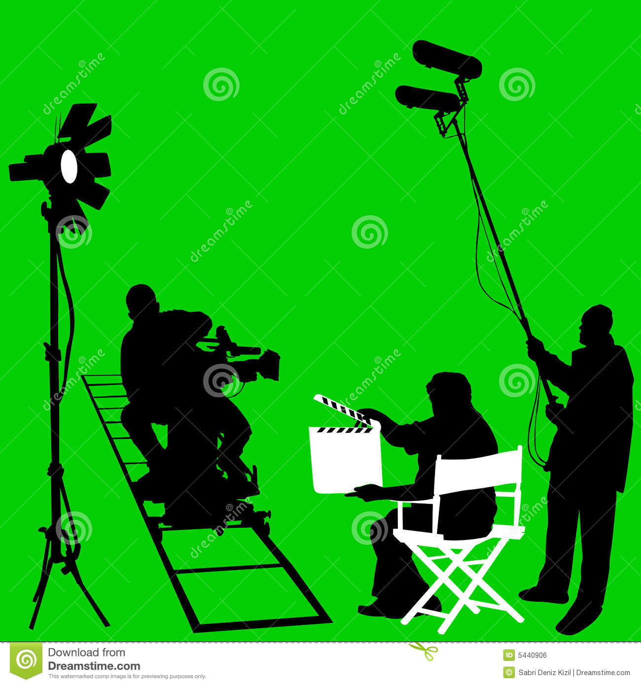 Film Set Vector Royalt...