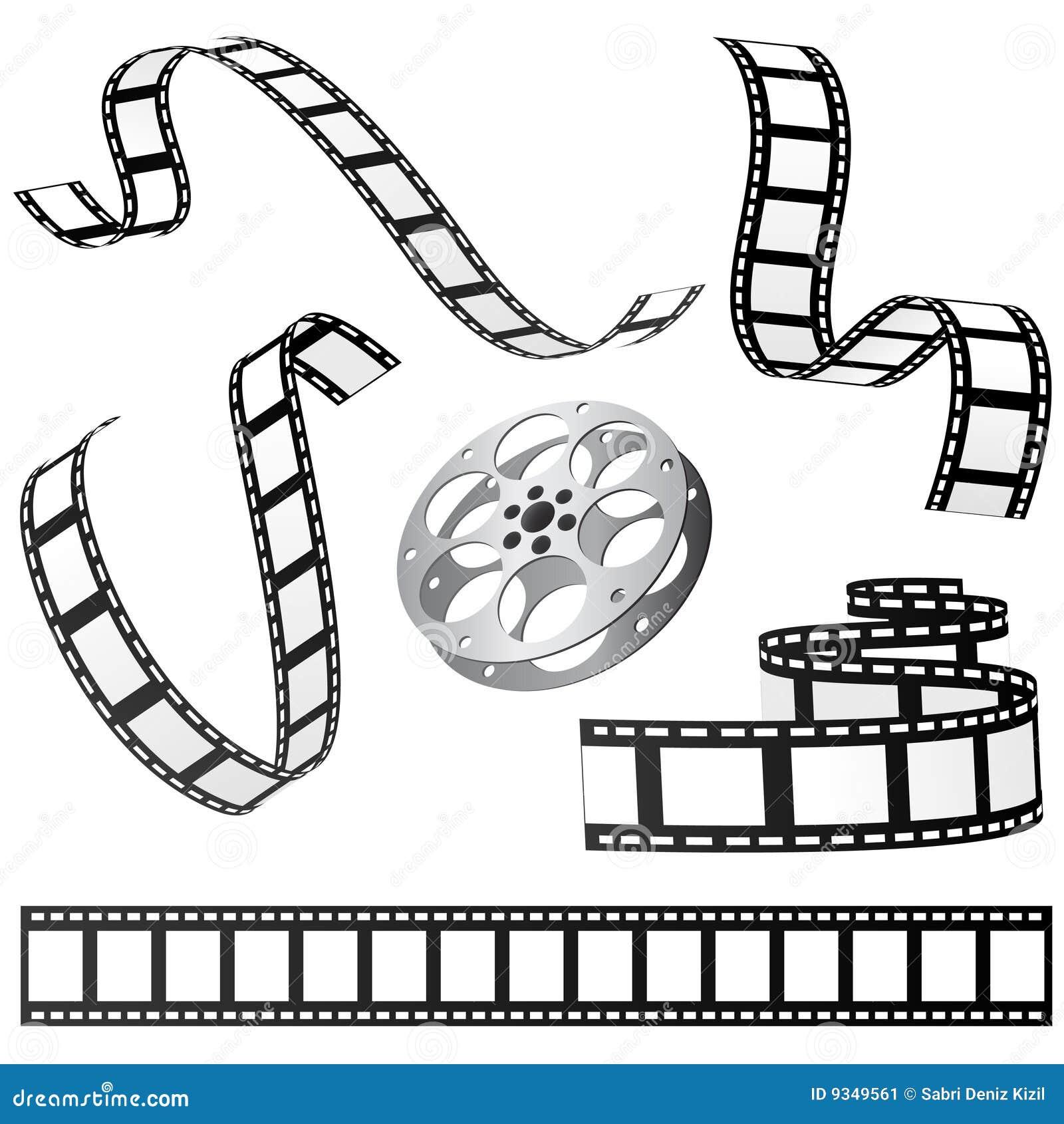 Film Set Vector Stock Image - Image: 9349561