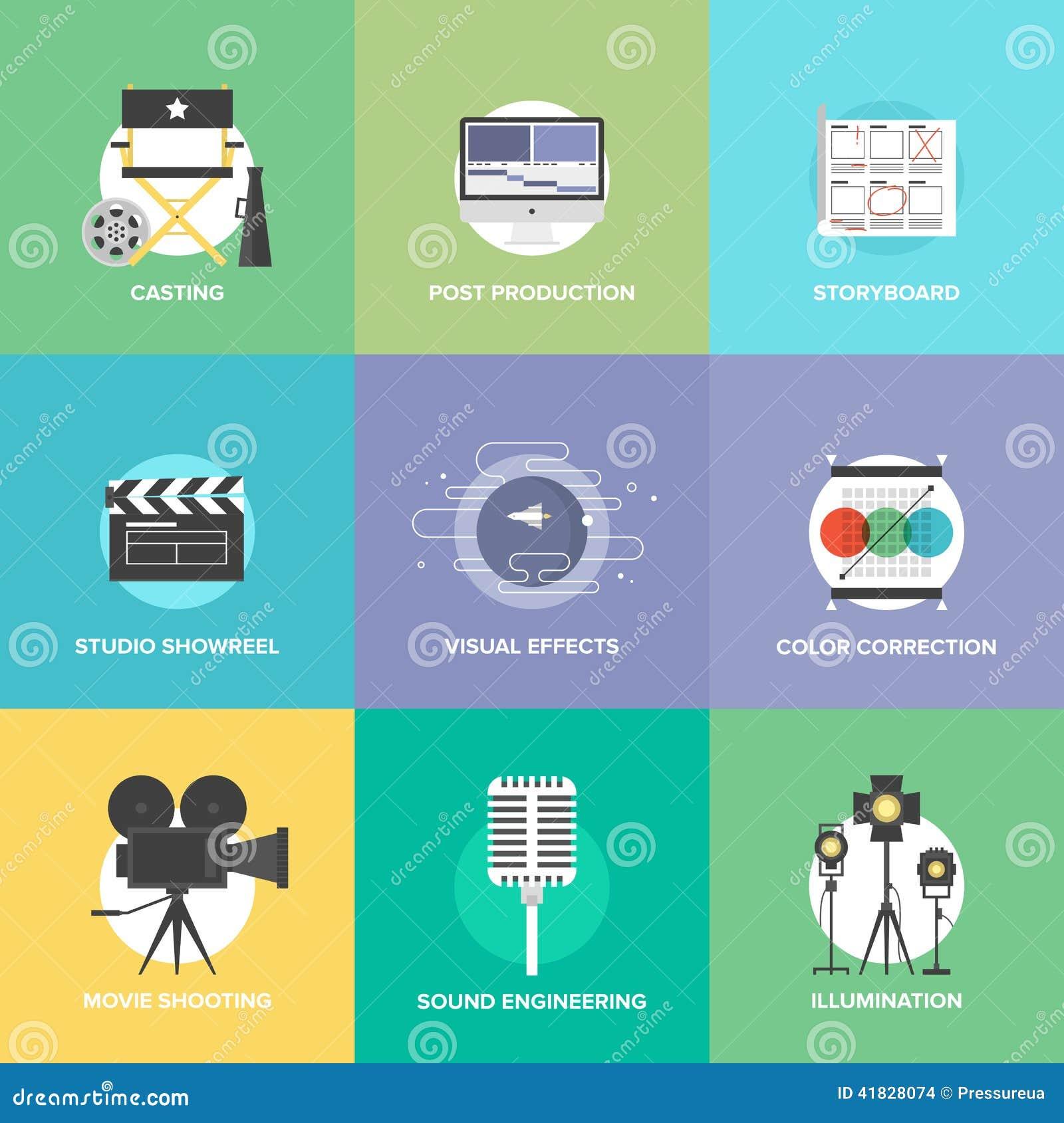 , movie shooting, studio showreel, actors casting, storyboard writing ...