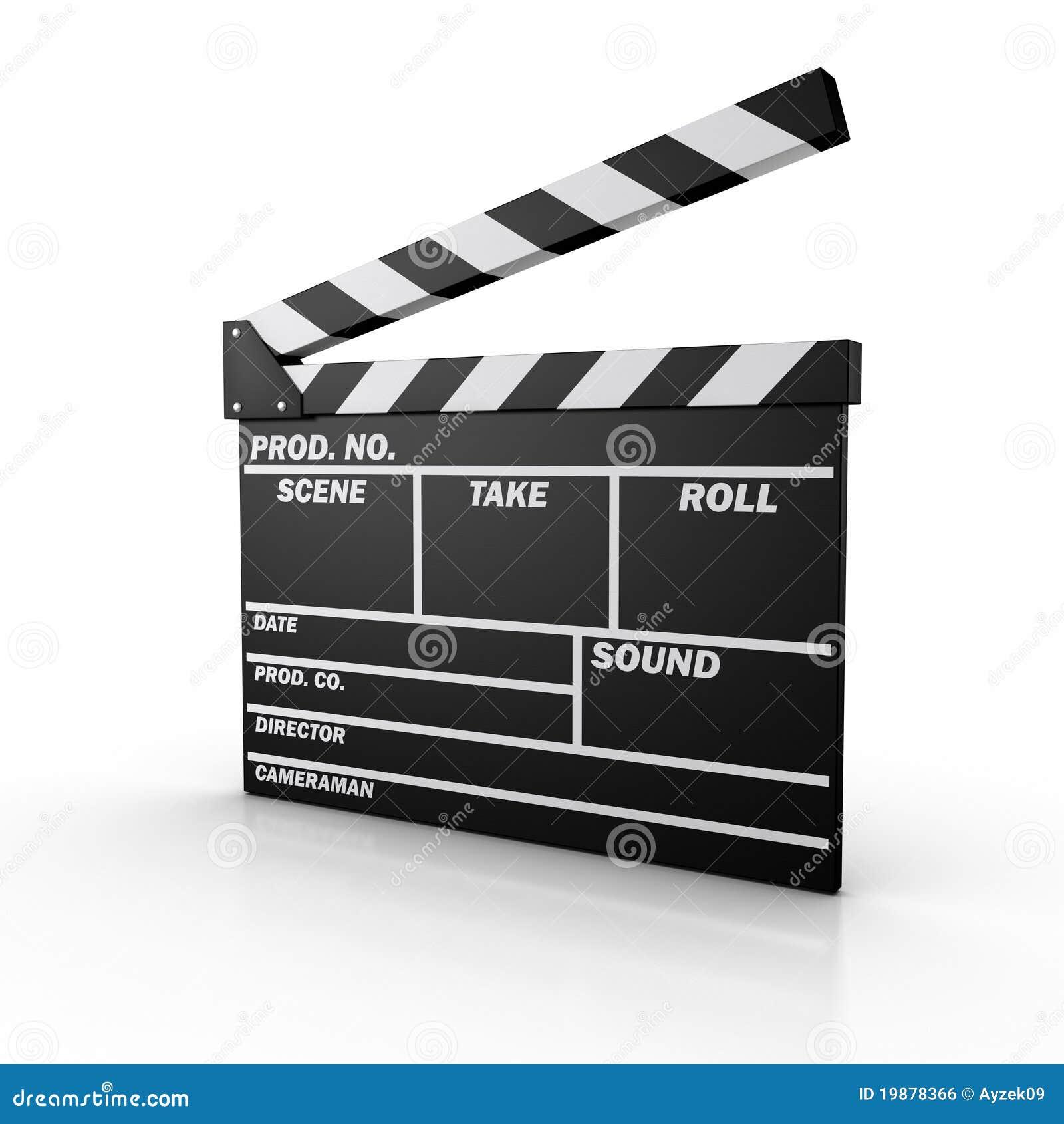 Film Slate Royalty Free Stock Image - Image: 19878366