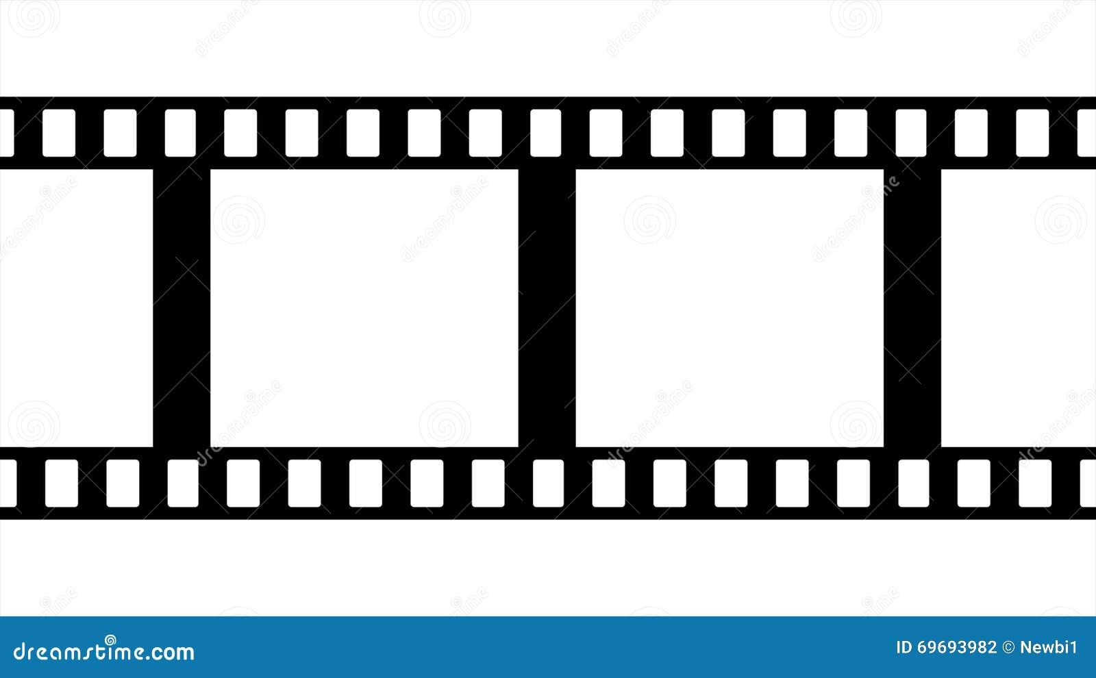 Film-Streifen-Schwarzweiss-Videoaufnahmen Stock Footage - Video von ...