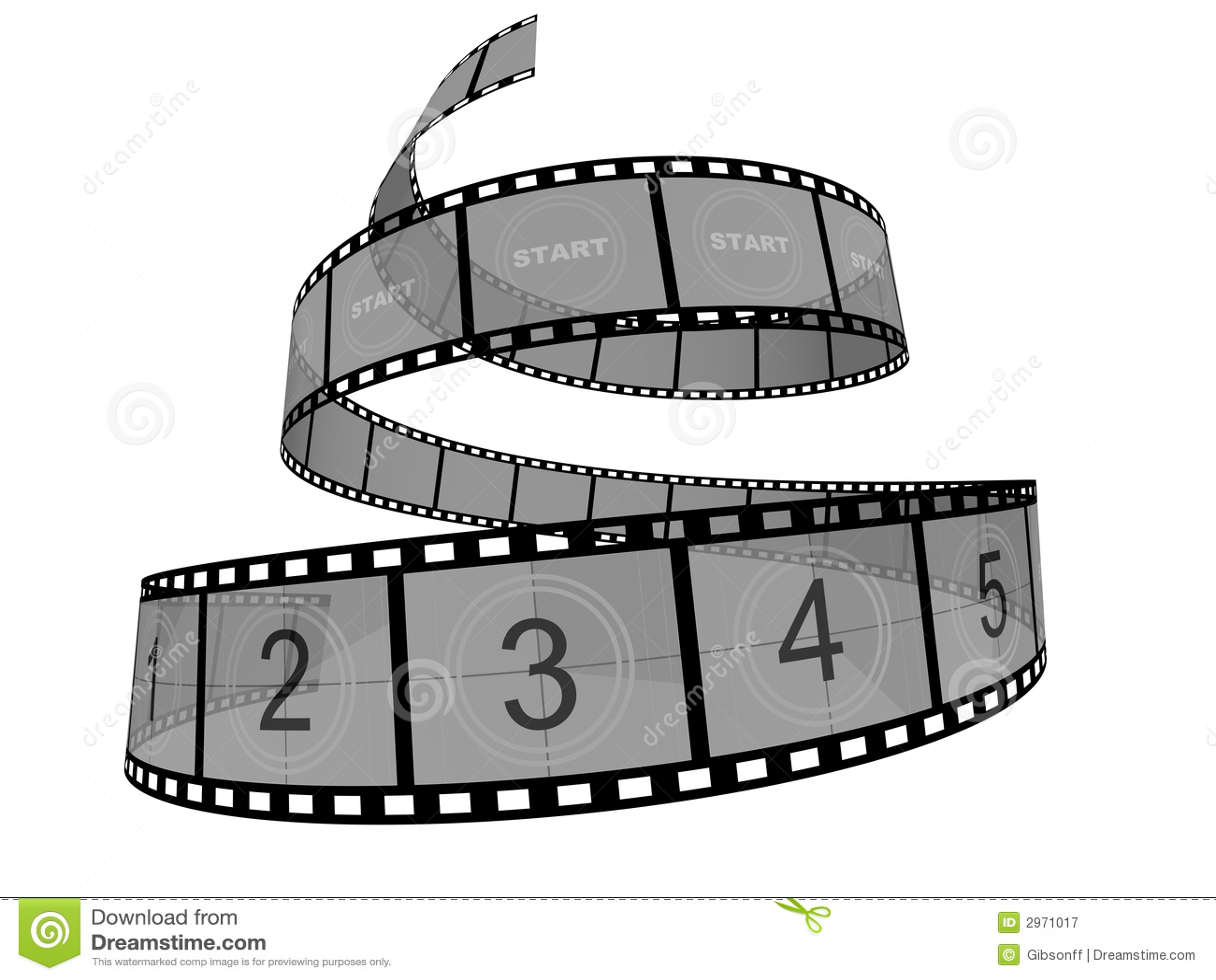 Film Strip Stock Illustration Illustration Of Perspective 2971017
