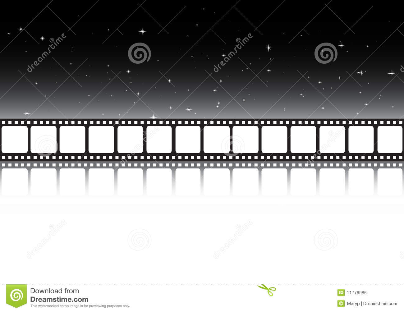 film strip background banner royalty free stock image