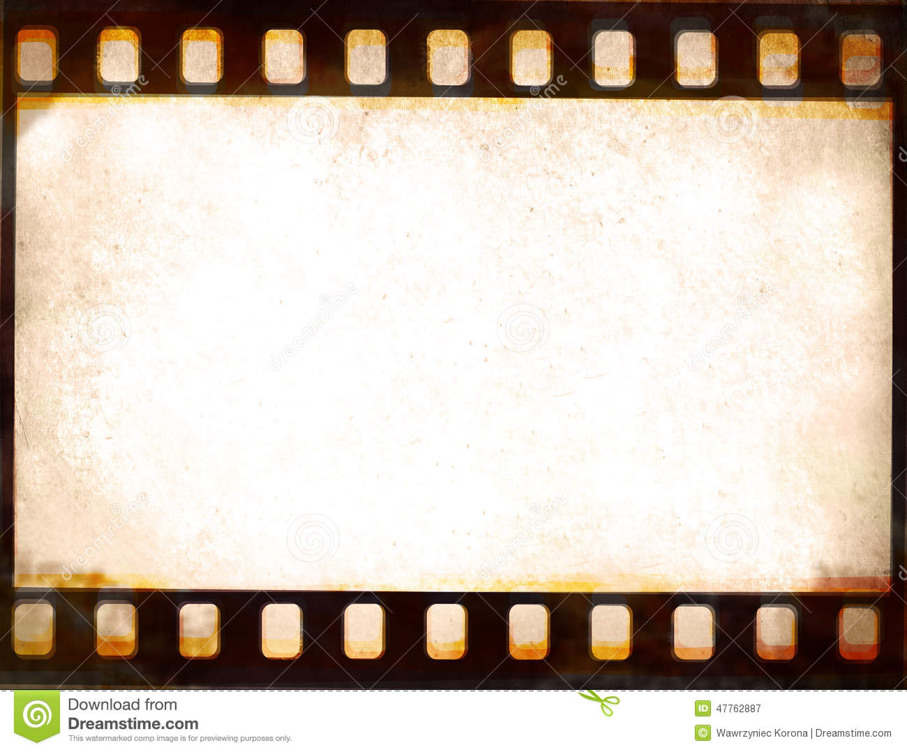 Image film strip frame