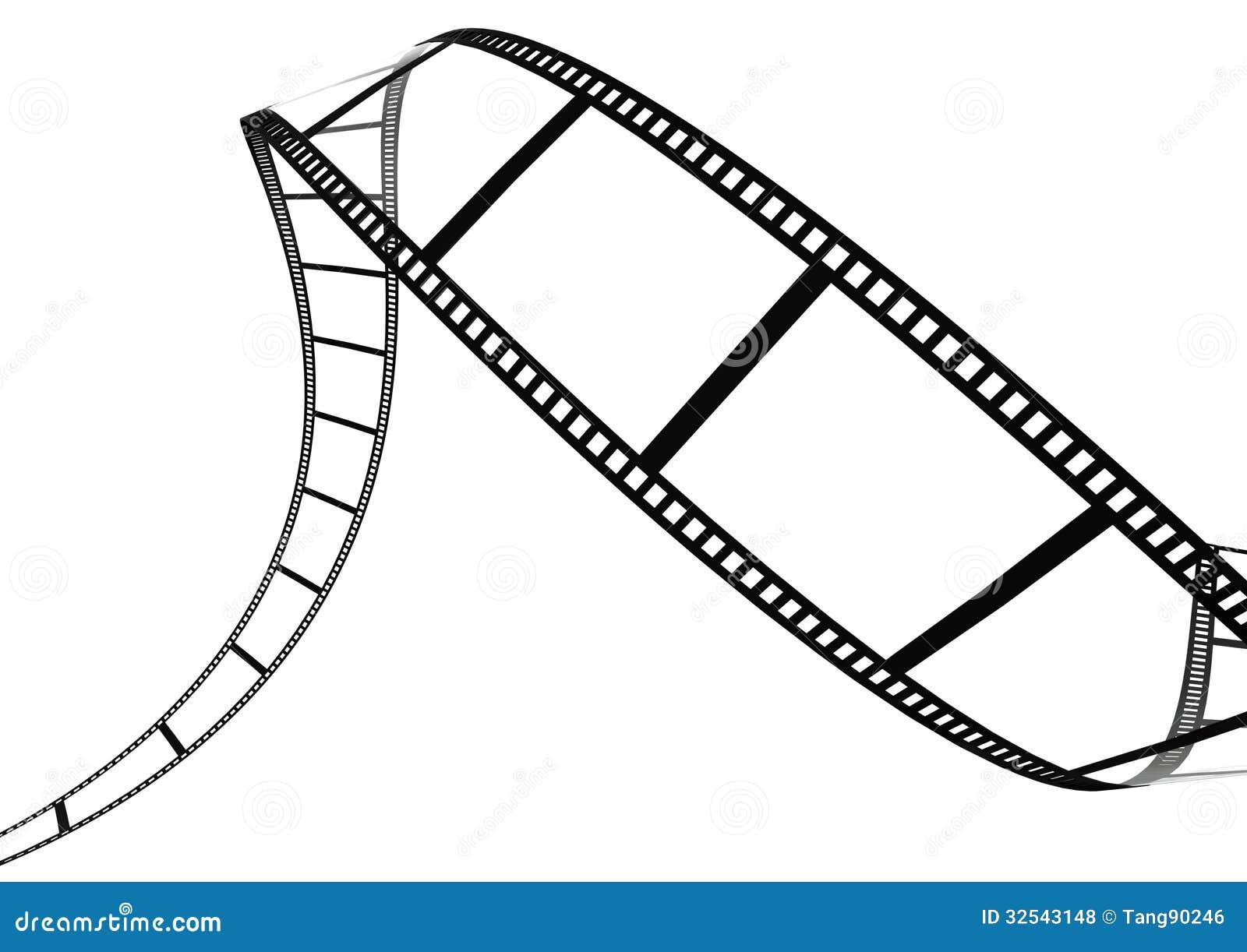 Film strip artwork