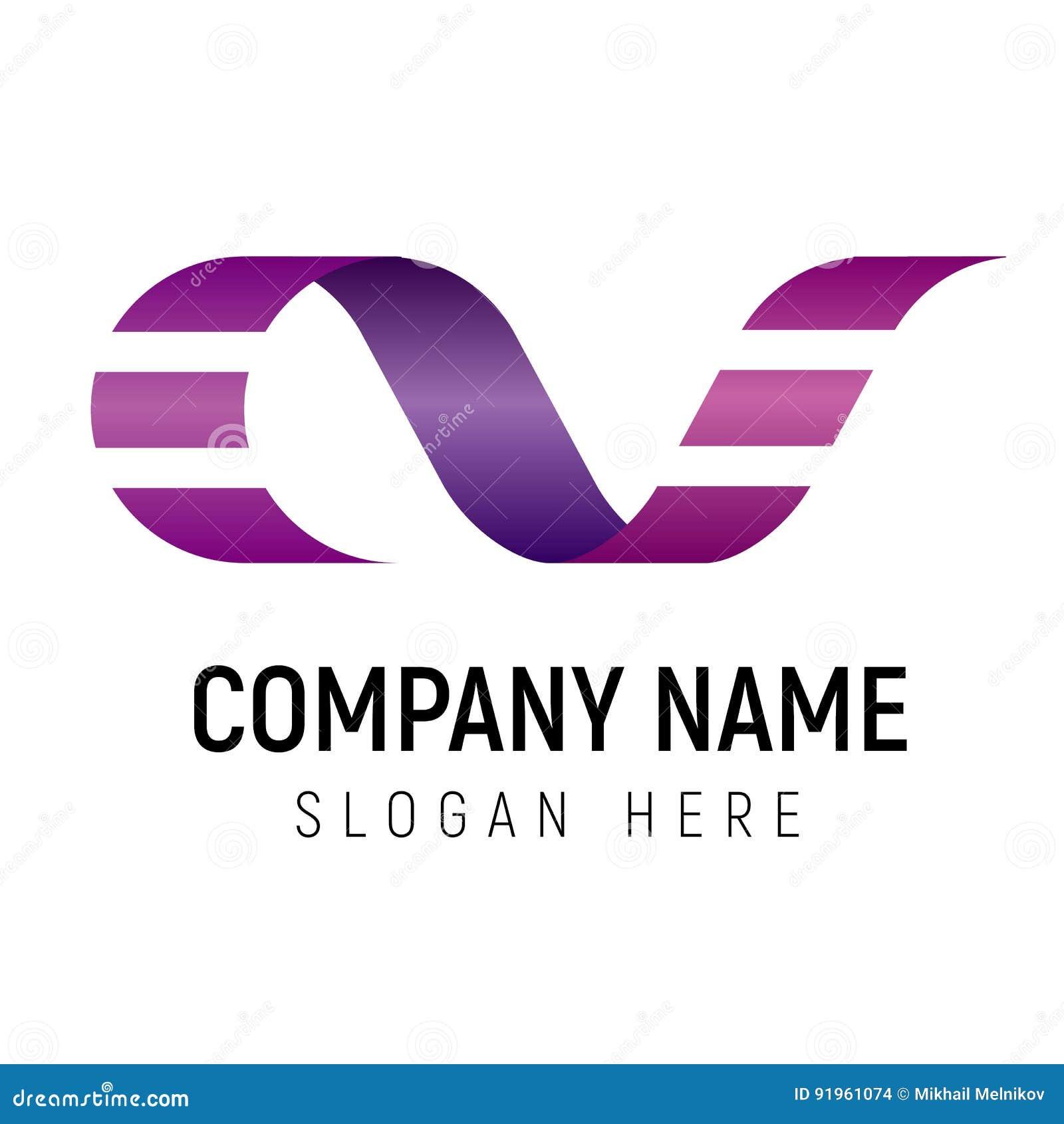Film Strip Logo Vector Template  Stock Vector - Illustration