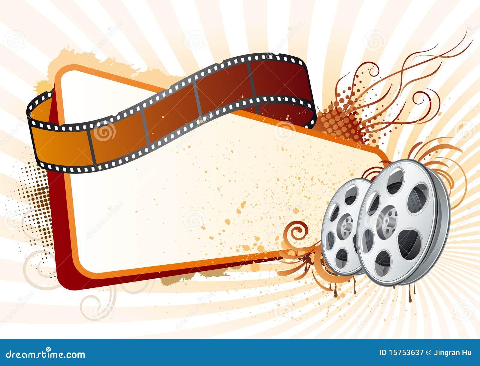 film stripmovie theme element stock vector image 15753637