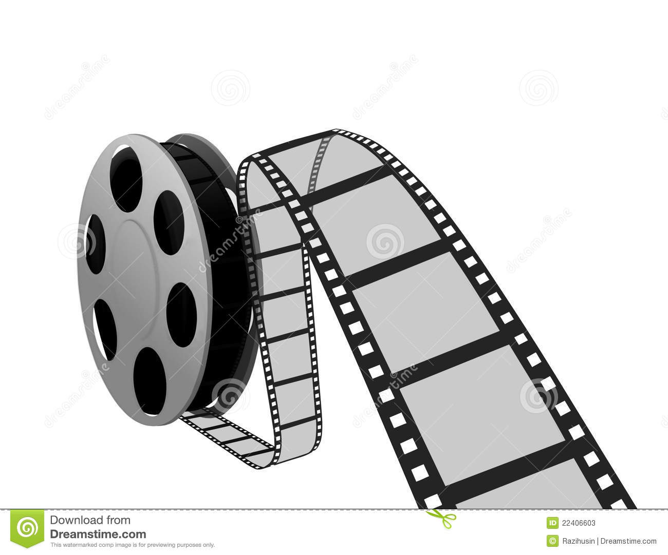 Film Strip And Reel Stock Photos - Image: 22406603
