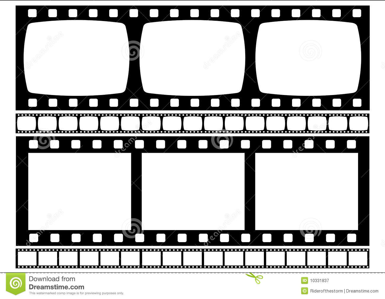 how to draw film strip