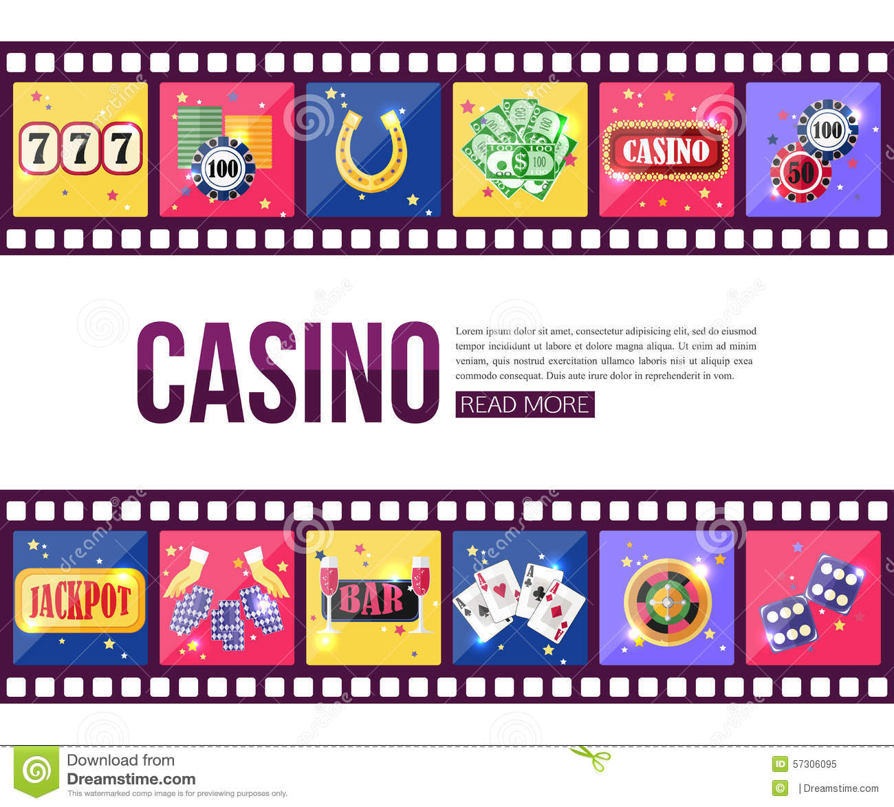 Money and casino pack for element 3d