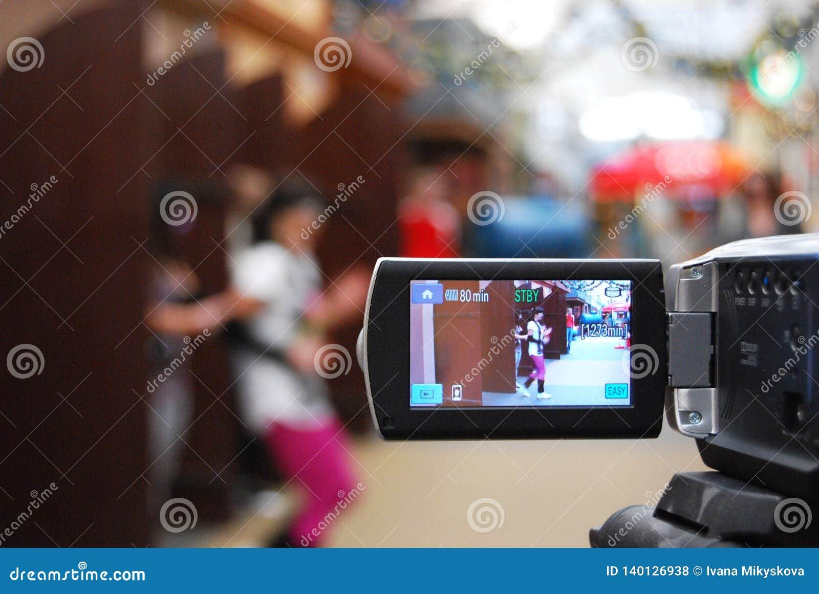 Filmando um grampo