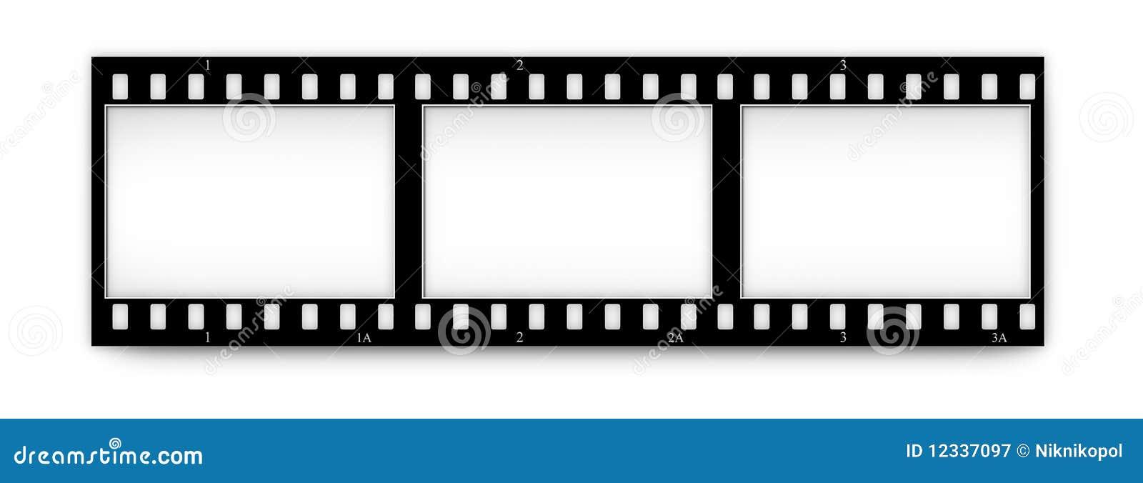 Filme (cromo, delicado) frames (corrediças) com in.frames