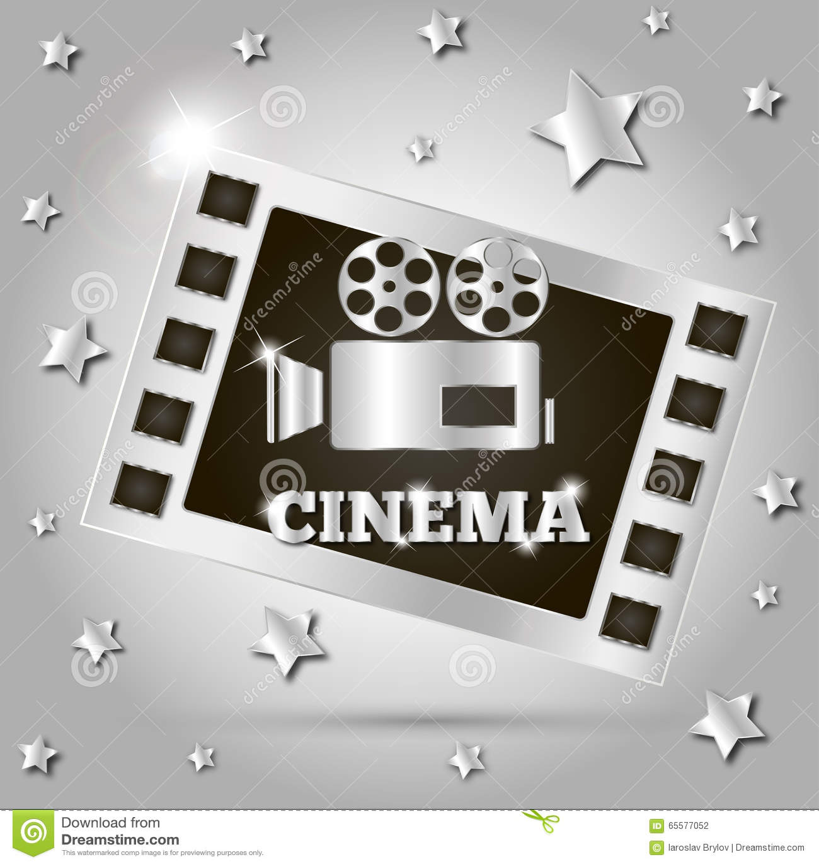 Filme de filme da câmera