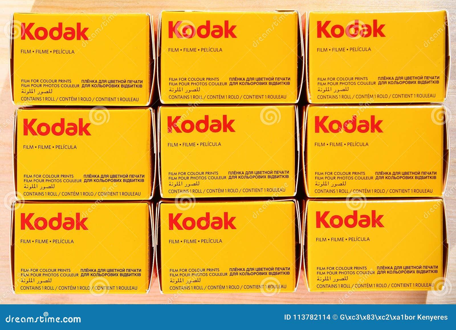 Filmes de KODAK - fotografia análoga