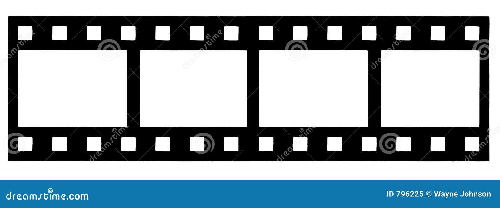 printable film strip template - filmstrip stock illustration illustration of flick
