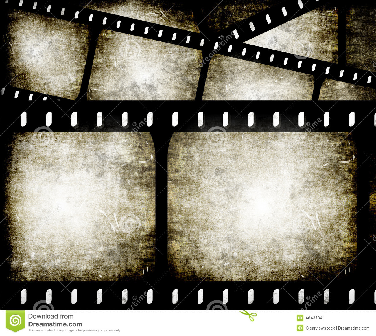 Filmstrip abstrato