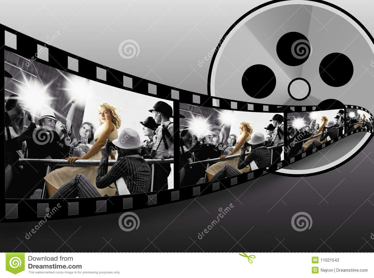 Filmstrip Collage Stock Photography - Image 11021542-4154