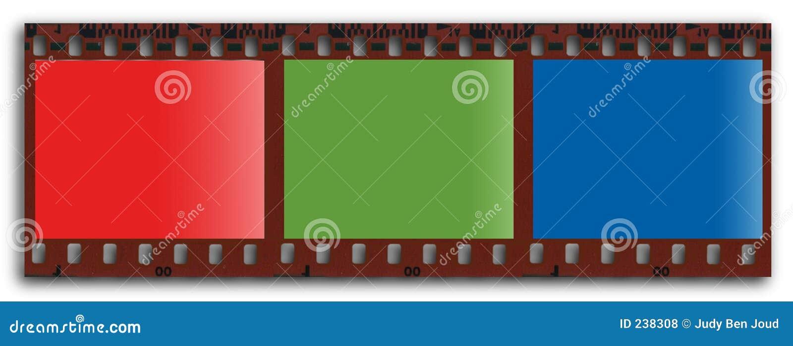 Filmstrip di RGB