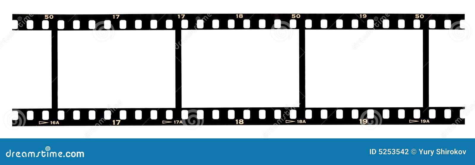 Filmstrip ramy