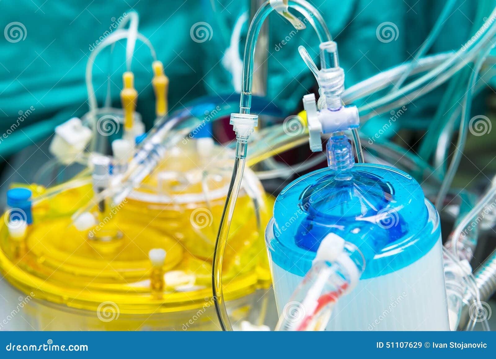 Filter van de hart-long machine