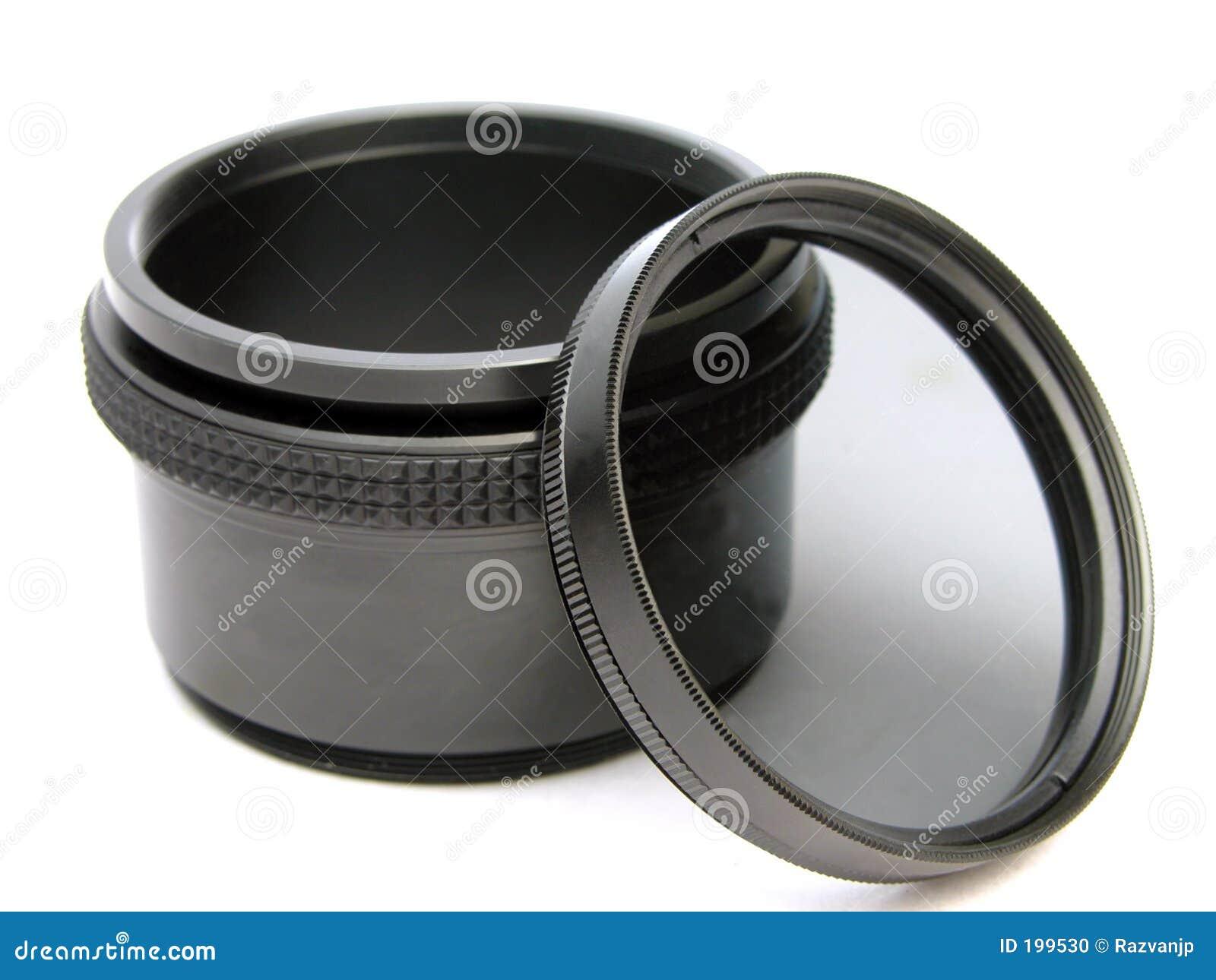 Filtre et adaptateur circulaires de polariseur