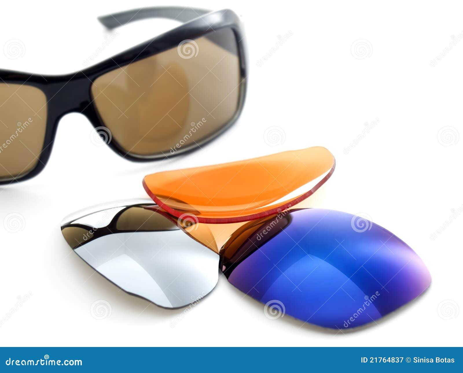 ed56711eaedc9 Filtros dos óculos de sol imagem de stock. Imagem de lente - 21764837