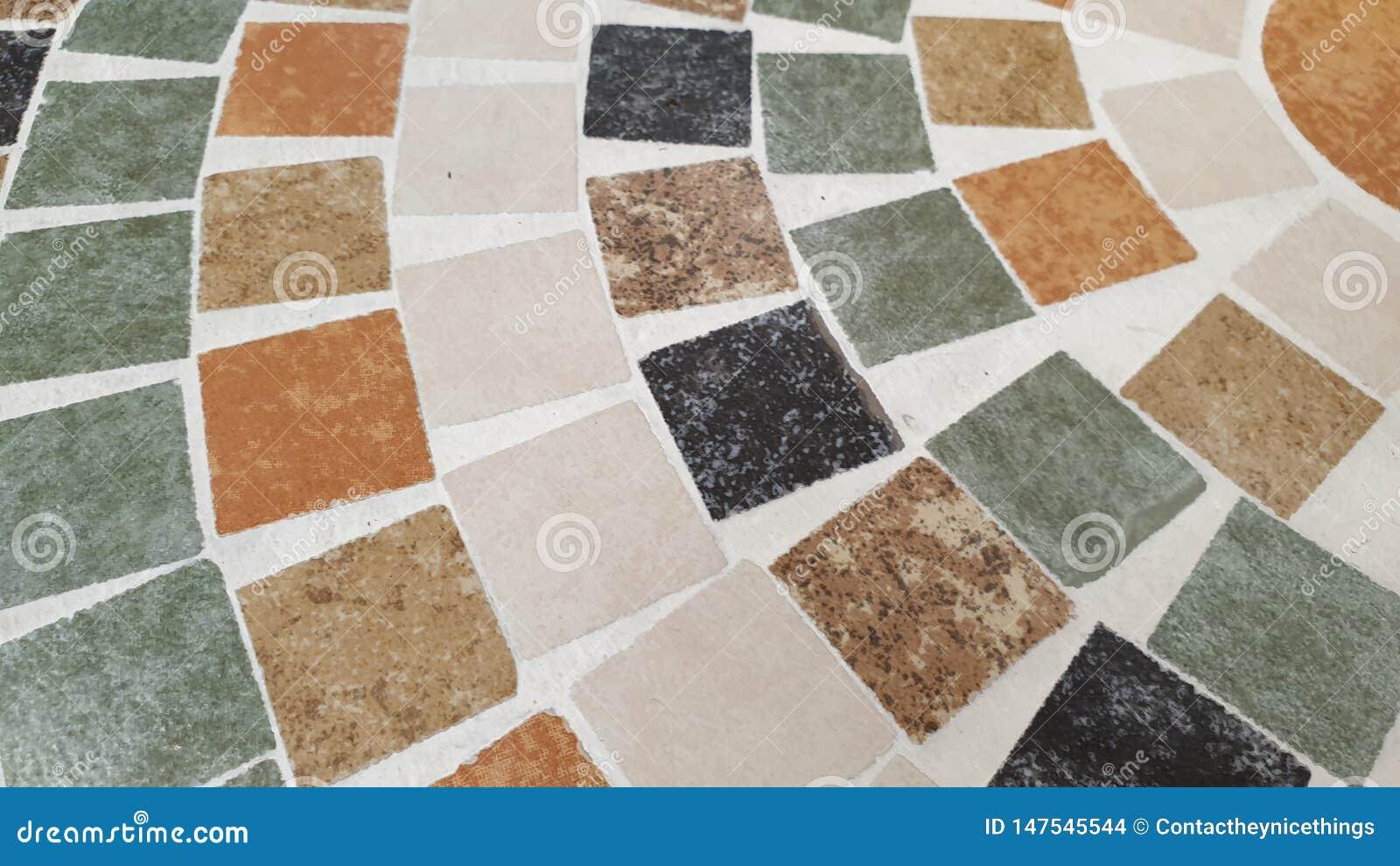 Fim acima da textura do fundo do mosaico