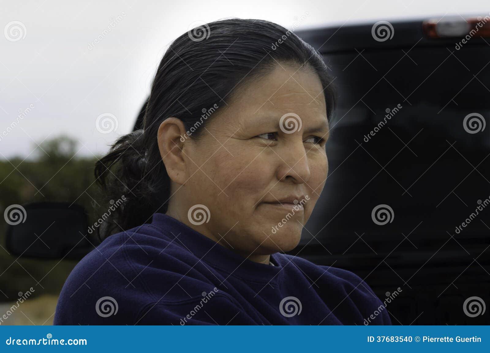 Fim da mulher do Navajo acima