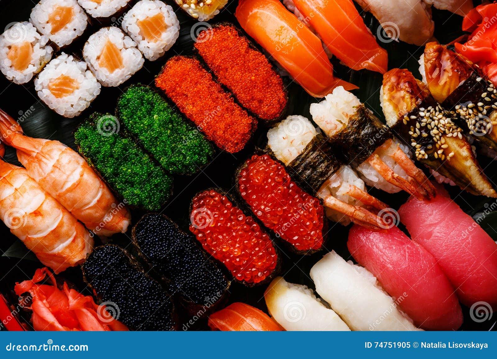Fim do grupo do sushi acima