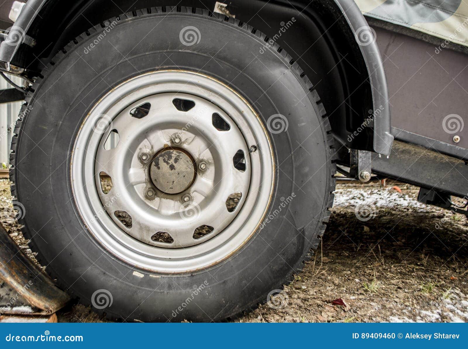 Fim do reboque da roda