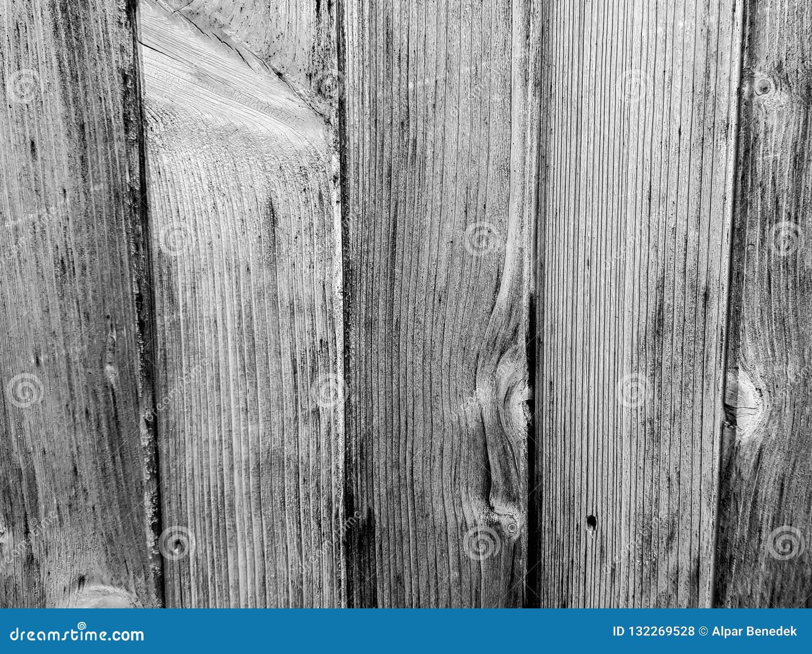 Fim textured envelhecido da parede da madeira de pinho acima do tiro