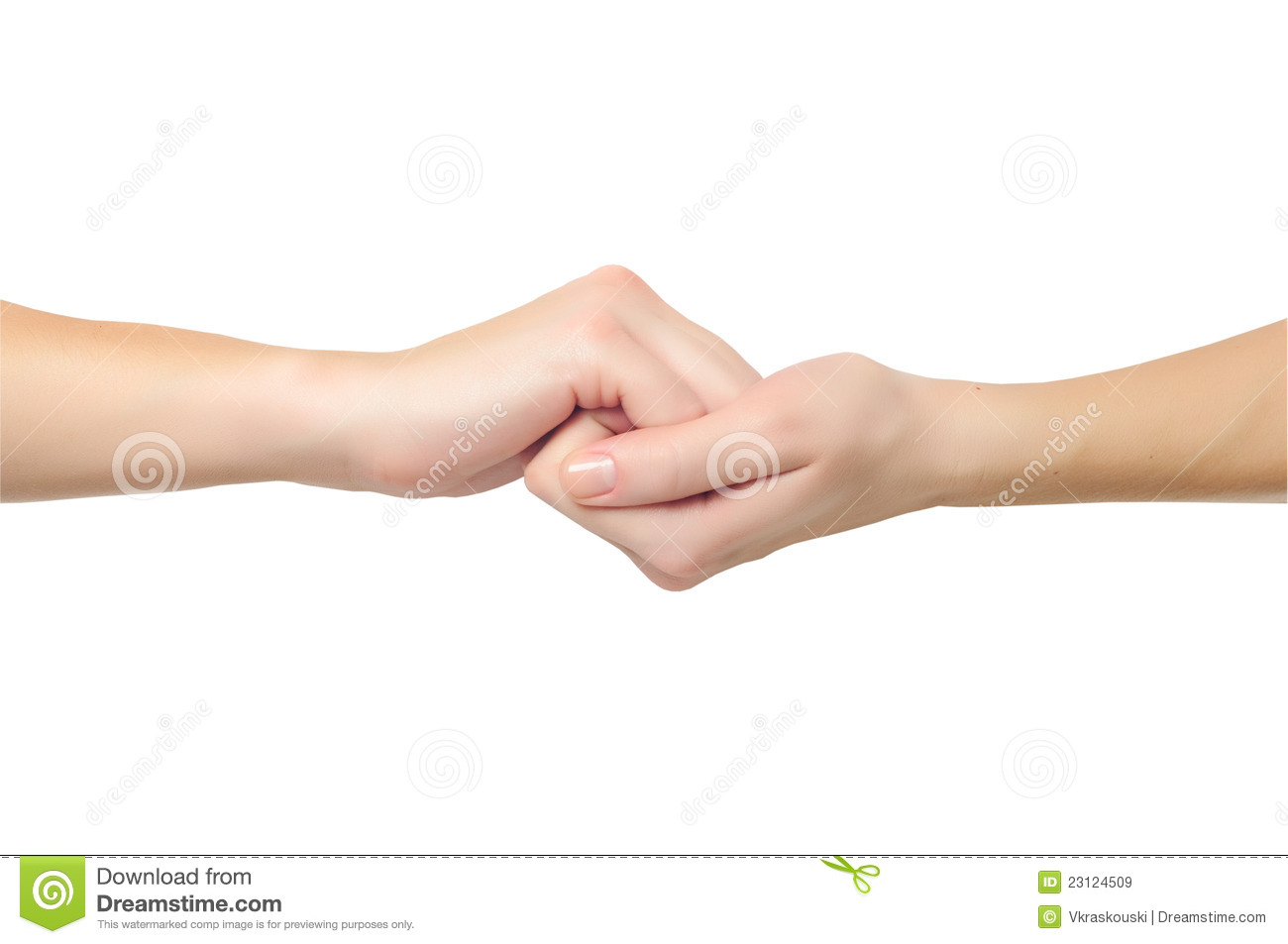 Hand holding and dating