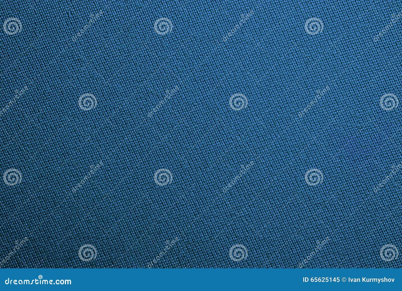 Fin bleue de texture de couleur de tissu de billards de piscine