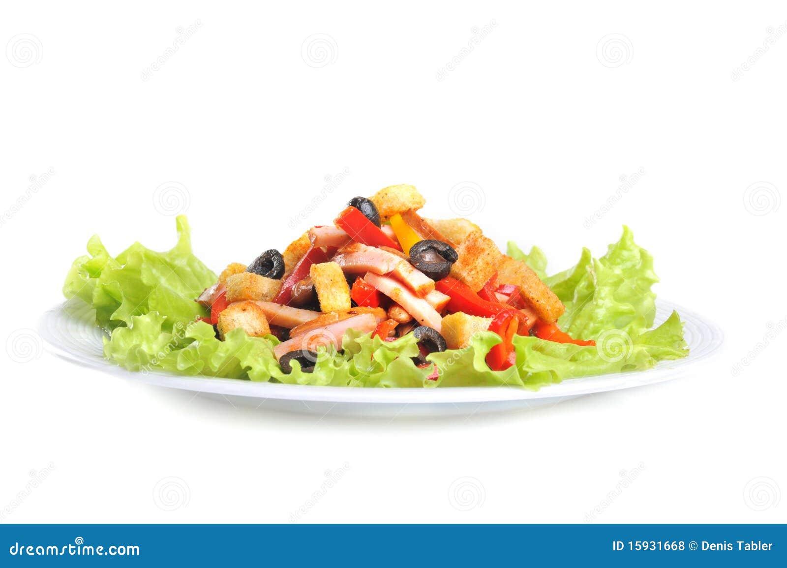 Fin mexicaine de salade vers le haut photos libres de for Vers des salades