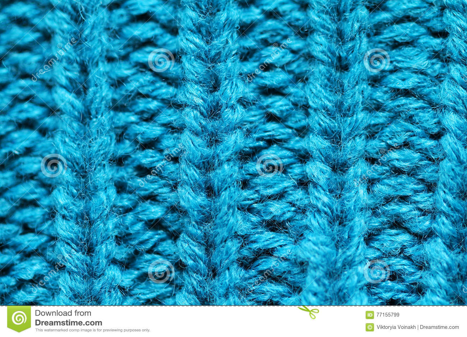 Fin tricotée de fond