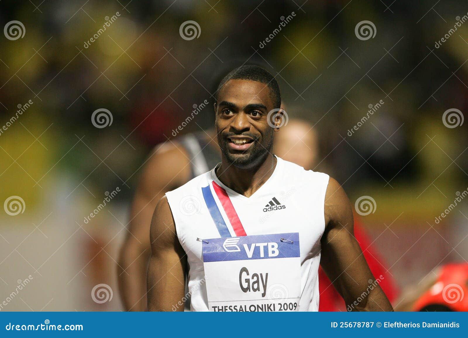 Final alegre 2009 del atletismo del mundo del Mens el 100m de Tyson