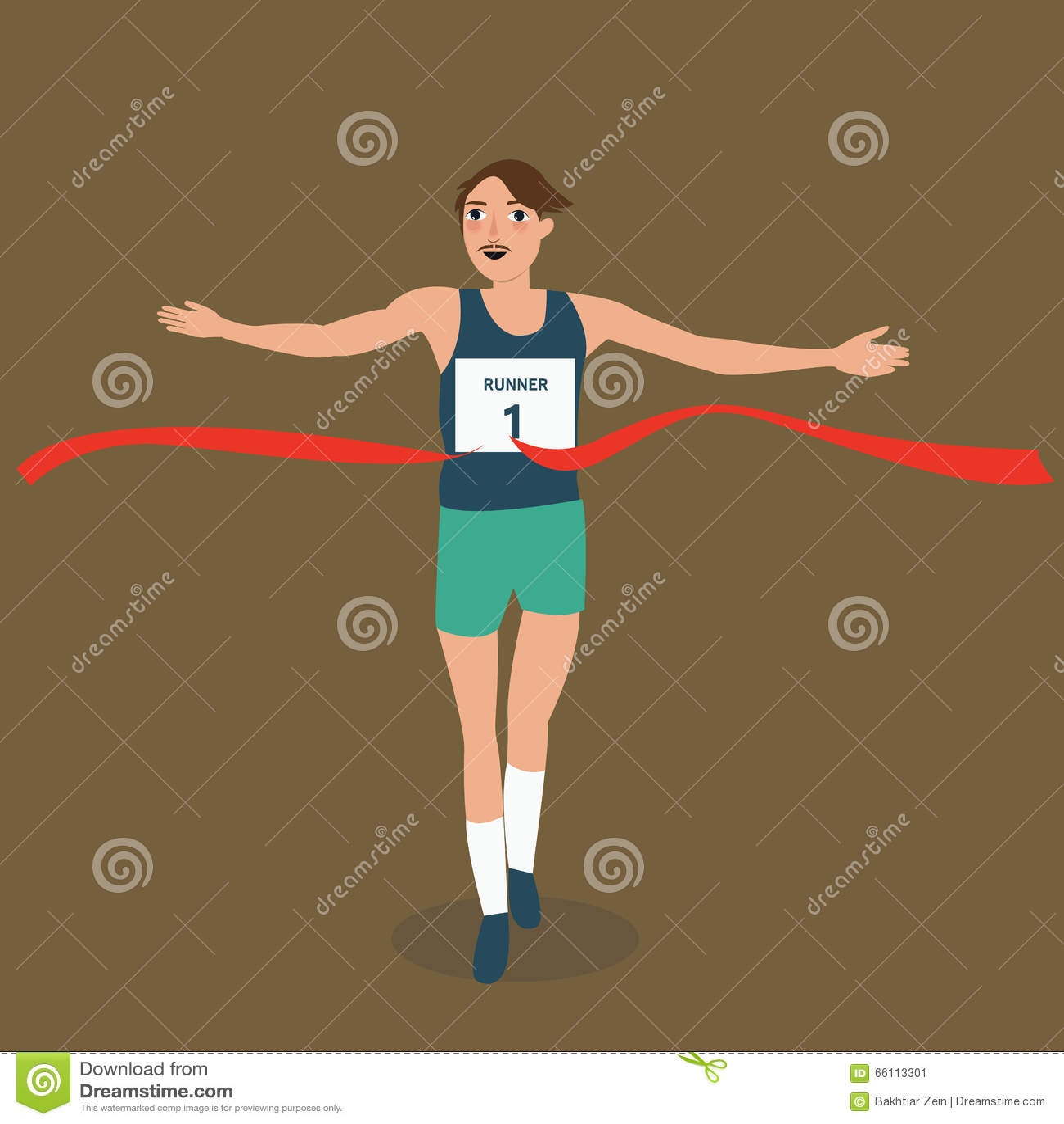 Disfraz de atleta corredor adulto rojo