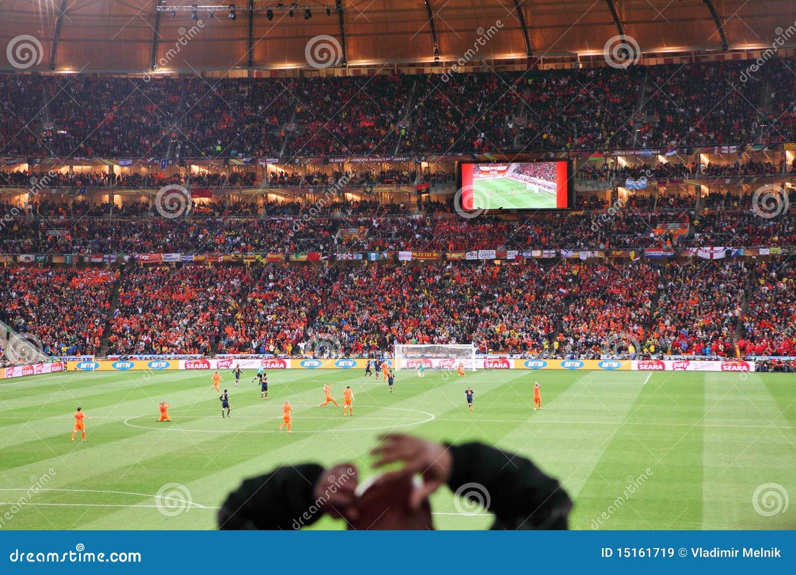 Final en el estadio de la ciudad del fútbol