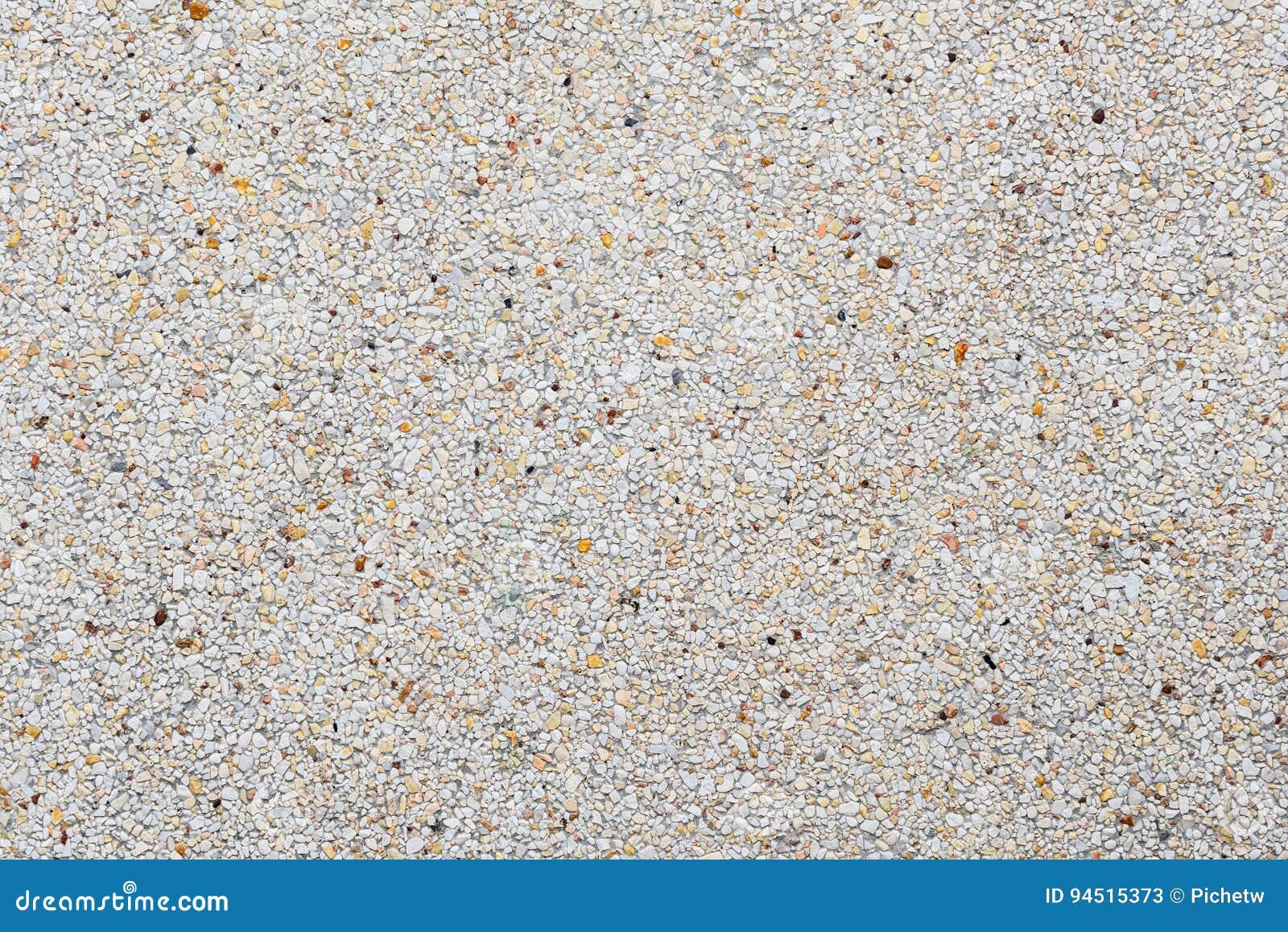 Final global expuesto o textura concreta lavada