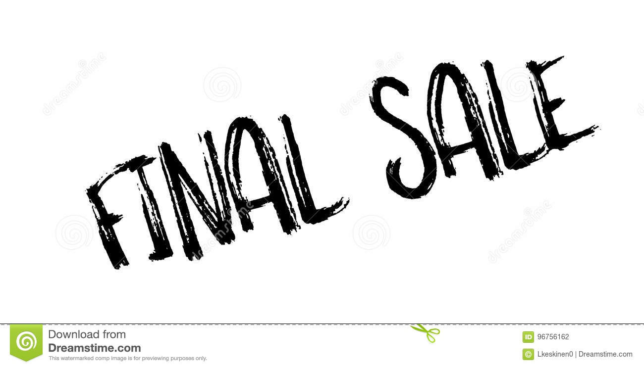 Download Final Sale Rubber Stamp Stock Vector Illustration Of Auction